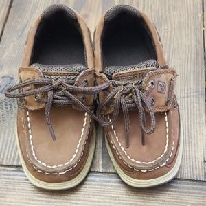 Sperry Top-Sider Lanyard Boys Boat Shoes Size 9m